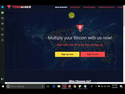 new cloud mining sites 2018   teraminer.io free 100 ghs