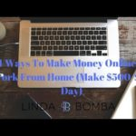 4 Ways To Make Money Online & Work From Home (Make $500-$1K Day)