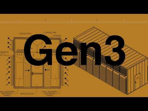 CryptoKube Gen3 Bitcoin Mining Unit. 1.7 Mw!!!