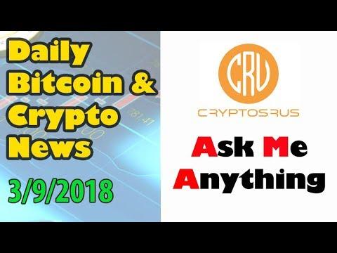 Crypto AMA Friday [Bitcoin and Cryptocurrency News]