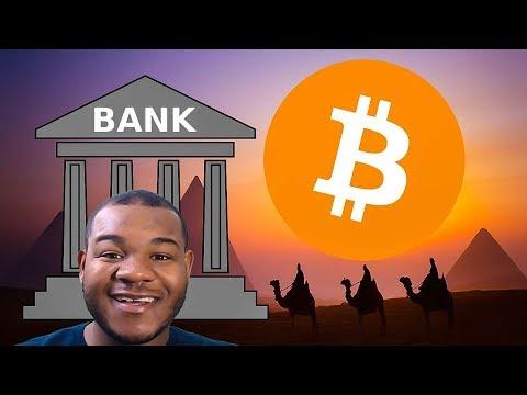 Egyptian Government Mining Crypto / Bitcoin Bear / Banks Cash Debit Ratio