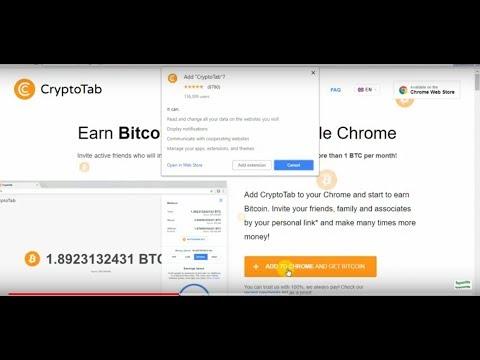 How to Earn Google Chrome Crypto Tab ।। CryptoTab - Free Bitcoin Mining ।। Earn 1 Bitcoin a month