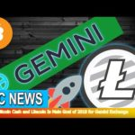 BTC News – Adding Bitcoin Cash and Litecoin Is Main Goal of 2018 for Gemini Exchange