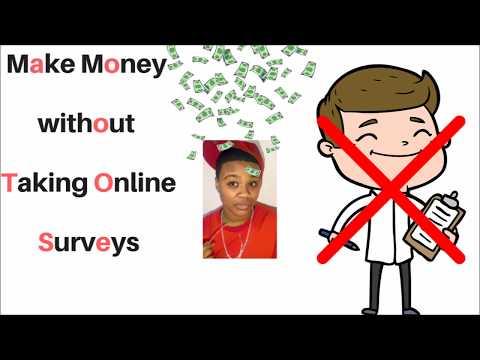 Make Money without Taking Online Surveys