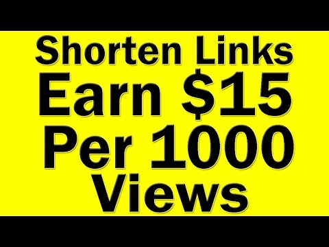 How To Make Money Online With Shorten Links | Earn $15 Per 1000 Views By Shorten Links Is It Real?
