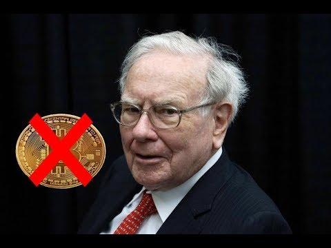 Warrent Buffet Calls Bitcoin A Scam. He's Wrong