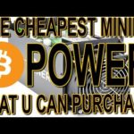 The Cheapest BITCOIN Mining Power Sale EVER Is Right Now !!