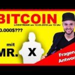 Bitcoin News [BTC] 50.000$ möglich? Crypto Crash Fragen und Antworten ⏰ LIVE 13.03.2018 ⭐⭐⭐⭐⭐