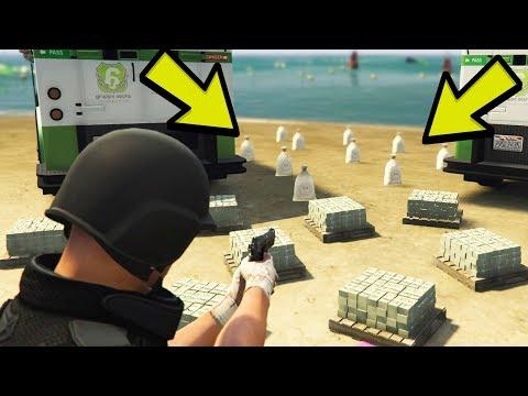 GTA 5 Online - How to make money Solo *EASY* (GTA 5 Money Method)