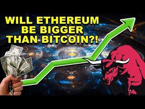 Will Ethereum Be Bigger Than Bitcoin? - ETH Bigger than BTC? - ETH BTC CryptoCurrency News