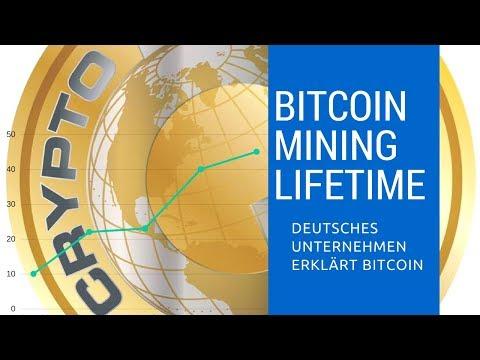 CRYPTO GOLD Bitcoin & Altcoin Mining Lifetime