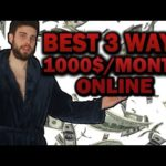 Best 3 Ways To Make Money Online (For Free) In 2018 As A Beginner