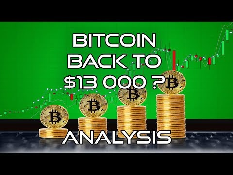 BITCOIN WILL GO UP TO $13 000 - TECHNICAL ANALYSIS AND EXPLANATION