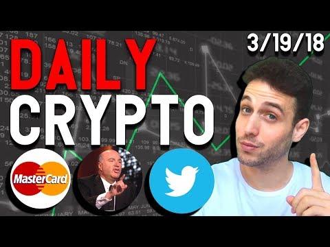 Daily Crypto News: Bitcoin Bull Run? G20 Summit, MasterCard and Blockchain, Twitter Censorship