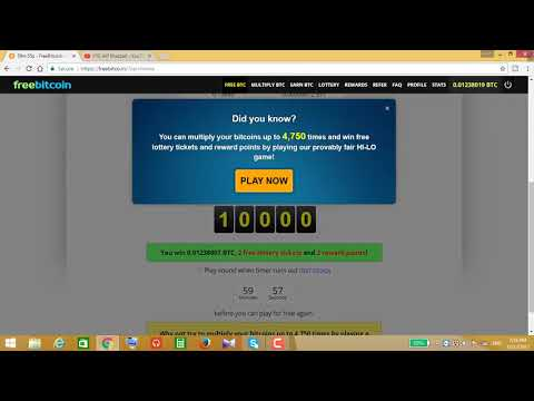 Earn Unlimited Free Bitcoin Without Mining or No Invest  Bangla Tutorial 2018