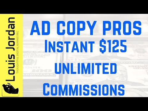 Ad Copy Pros Compensation Plan 2018 | How To Make Money Online With Ad Copy Pros Review [3 Bonuses]