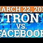 TRON TRX VS FACEBOOK! CARDANO ADA! CRYPTOCURRENCY COIN MARKET CRASH UPDATE + BITCOIN BTC NEWS 2018