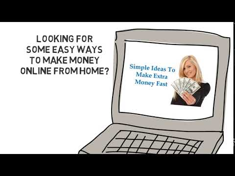 Easy way to make money online  Discover how to make real money online now.
