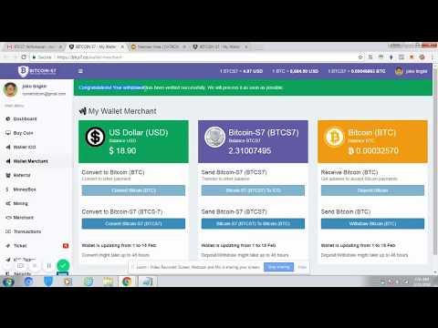 Cara Withdrawal CHTBOX ke Bitcoin via Merchant BTCS7