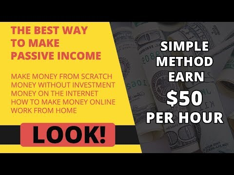 Make Money Online Fast  Simple Method  Earn $50 Per Hour
