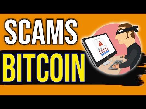 ESTAFAS comunes con BITCOIN (Criptomonedas) - SCAM