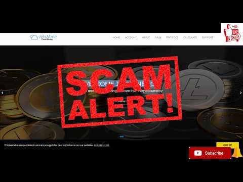 jetmine is scam do not join it won't pay