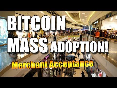 BITCOIN MASS ADOPTION LATEST NEWS | MORE MERCHANTS