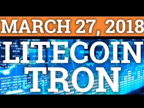 TRON TRX, LITECOIN LTC, COINBASE, LITEPAY! CRYPTOCURRENCY MARKET CRASH + BITCOIN BTC NEWS 2018!