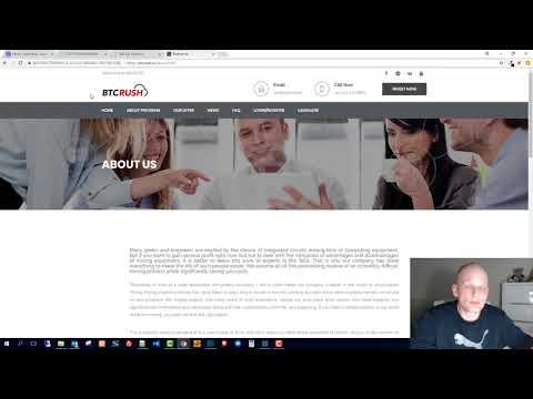 Bitcoin Cloud Mining Sites 2018: Btcrush Cryptomining.Farm Hashflare Bitclub.Network Review