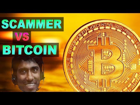 Paying Indian Scammers With Bitcoin
