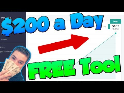 How to make money online fast and for FREE 2018, make $200 a day with free tools