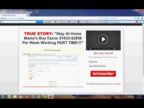 How To Make Money Online From Home With A Free System 2018