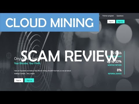 SCAM Review: onyxmine.net Bitcoin Cloudmining Test
