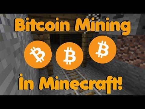 Bitcoin Mining in Minecraft!