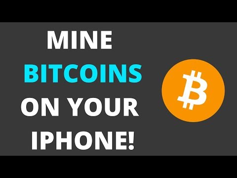 HOW TO MINE BITCOIN ON YOUR IPHONE!! (NO JAILBREAK!)