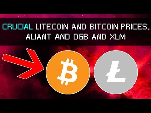 Crucial Moments for Litecoin and Bitcoin, Extended Double Bottom? Aliant and Daily LTC News