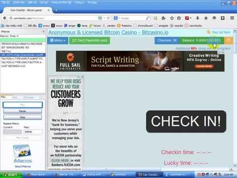 Bitcoin miễn phí - Chương trình hoàn toàn tự động cho Coinchekin.com