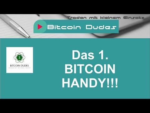 Das 1.  Bitcoin Handy - Tägliche Bitcoin News - Tägliche Analyse