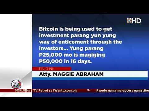 Lider ng umano'y bitcoin investment scam, arestado