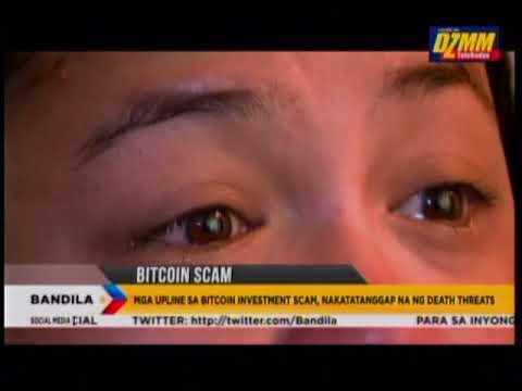 Ilang nanghikayat sa Bitcoin investment scam, nakatanggap ng death threat