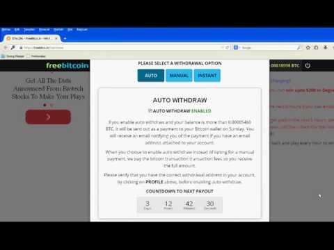 Bitcoin Faucet gratis dibayar mingguan