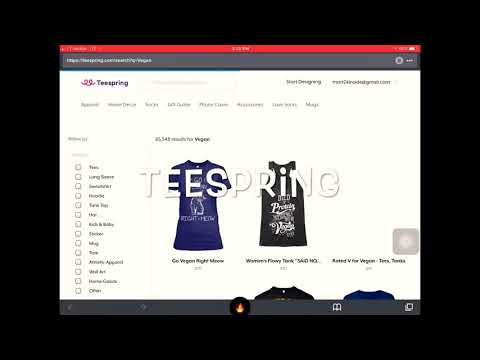 Top Sites To Design Shirts and Products To Sell And Make Money Online