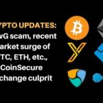 Crypto Updates: NewG scam, recent market surge of Bitcoin, Ethereum, Coinsecure exchange culprit