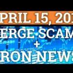 VERGE XVG SCAM? TRON TRX + BITCOIN BTC PRICE PREDICTION 2018 | CRYPTOCURRENCY CRASH COIN NEWS