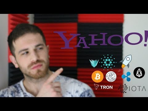YAHOO JUST INVESTED IN CRYPTOCURRENCY!! BITCOIN & CRYPTO MARKET RECOVERY NEWS & REVIEW