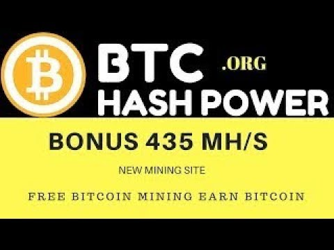BTC Power Hash  New Bitcoin Cloud Mining 2018 Free 140 Ghs