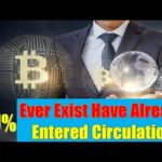 BTC NEWS: More Than 80% Of All Bitcoin That Will Ever Exist Have Already Entered Circulation