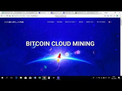Jak TěžIt Bitcoin PřEs Cloud Cz (Hashflare Cloud Mining). Hashflare Scam Or Legit