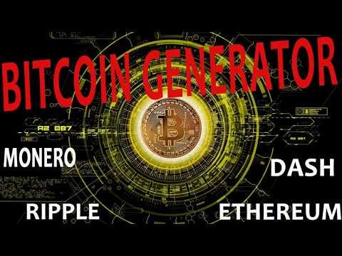 Generate Bitcoin - Claim 0.25 - 1 Bitcoin - news dog script