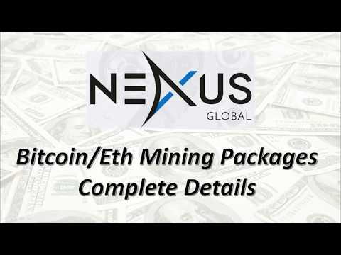 Nexus Global Bitcoin/Eth mining packages Details hindi/urdu